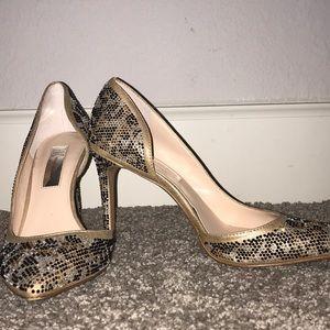 International Concepts -sparky glitter heels
